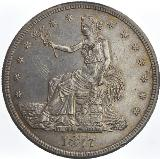 United States dollarUnited States Trade Dollar dated 1877 S