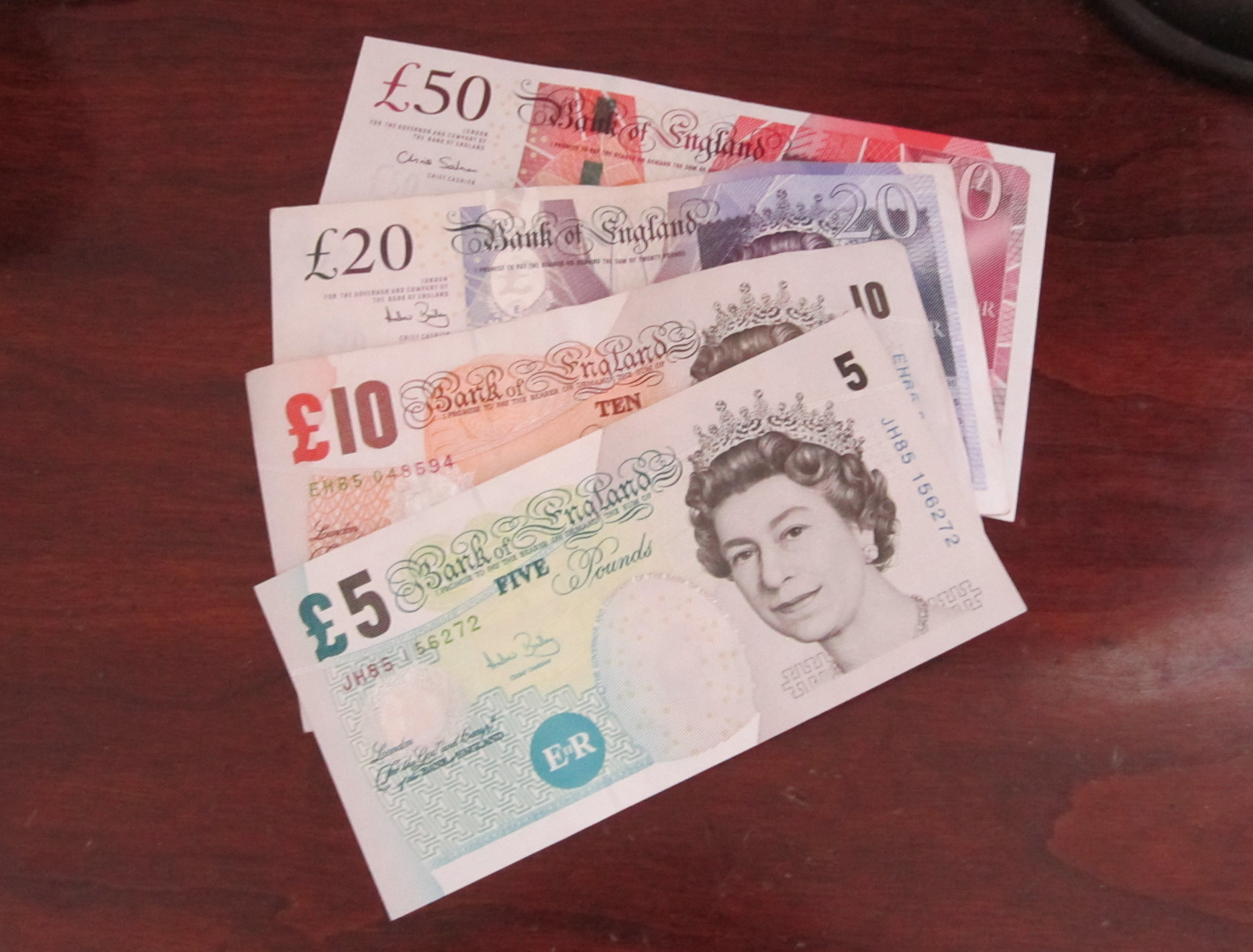 Pound sterlingEngland Pound Sterling